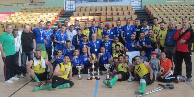 <span style='text-decoration: underline;'>Handisports | Volley-ball assis, 2ème tournoi Play off final national - Oran</span>:<br><span style='color:red;'>Mohamed Boudiaf s'adjuge le trophée national</span>