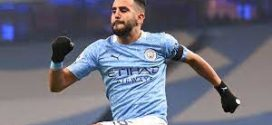 <span style='text-decoration: underline;'> Manchester City-PSG </span>:<br><span style='color:red;'>Riyad Mahrez, bourreau de Paris</span>